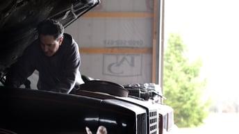 Automotive DIYer Under Hood