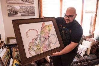Illustrator Painter David Schuler