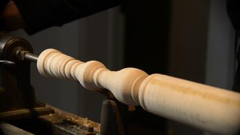 Woodturning Lathe Spindle Chair