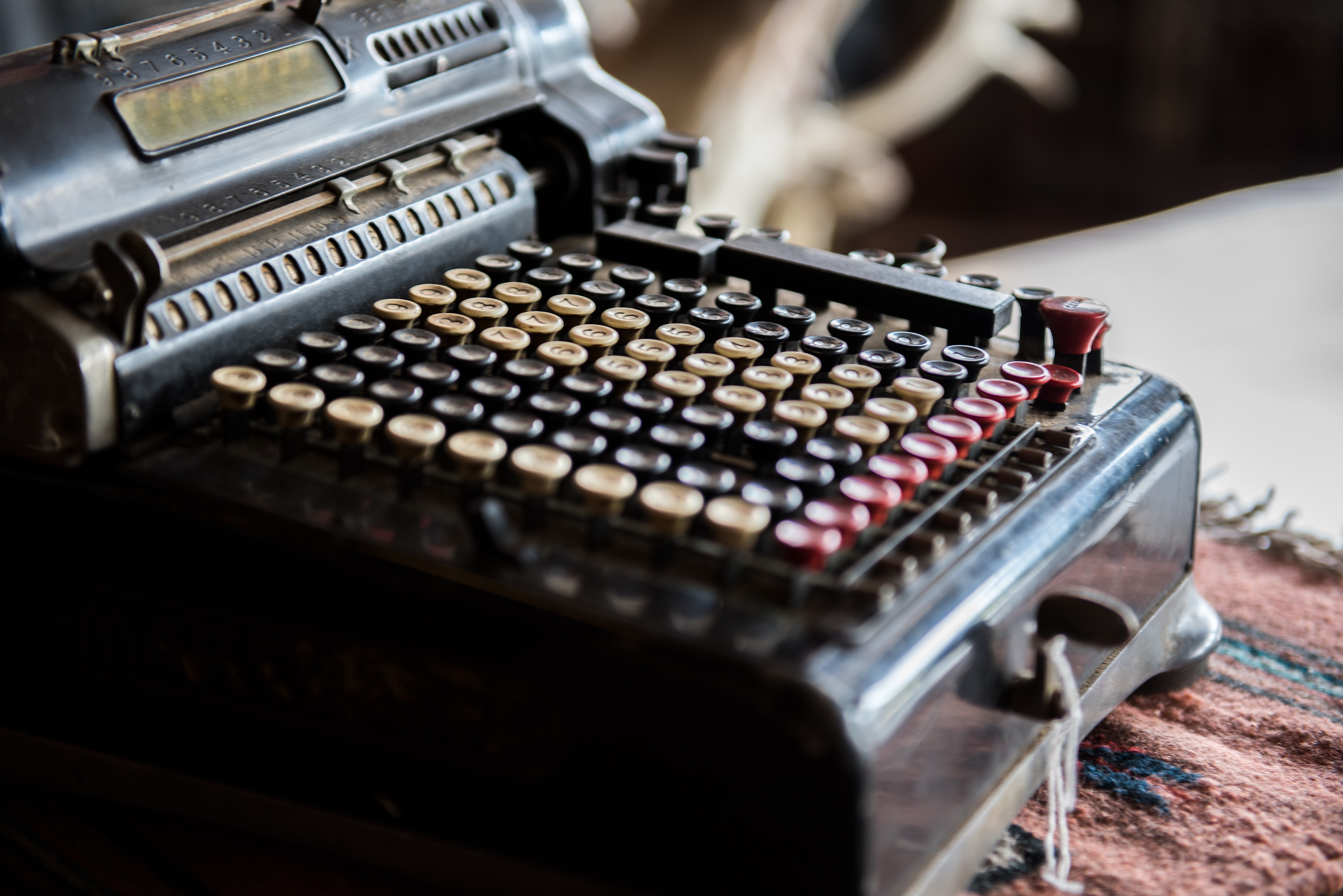 Antique TypeWriter at Birchwood Supply Company