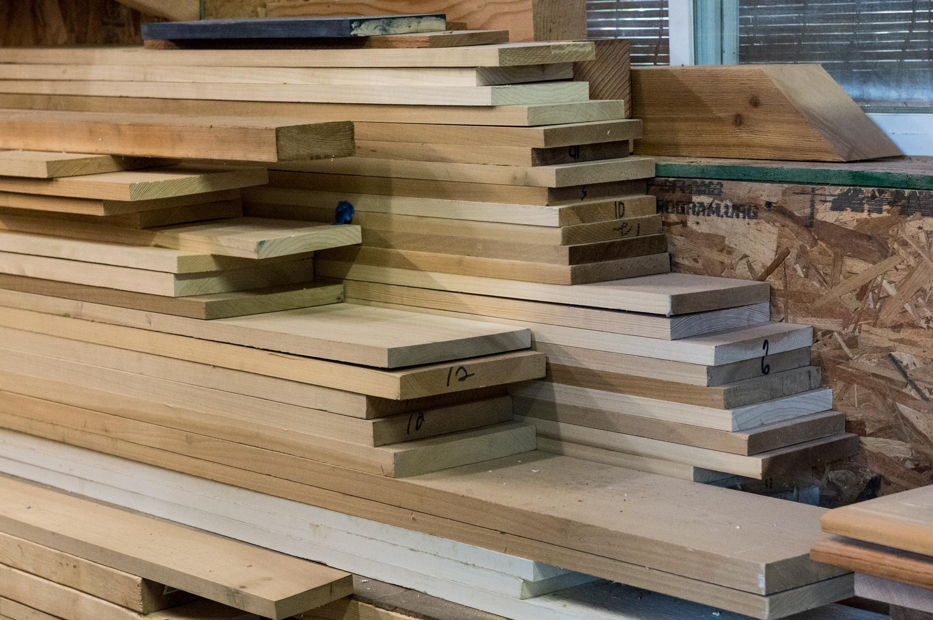 Lumber-Pile