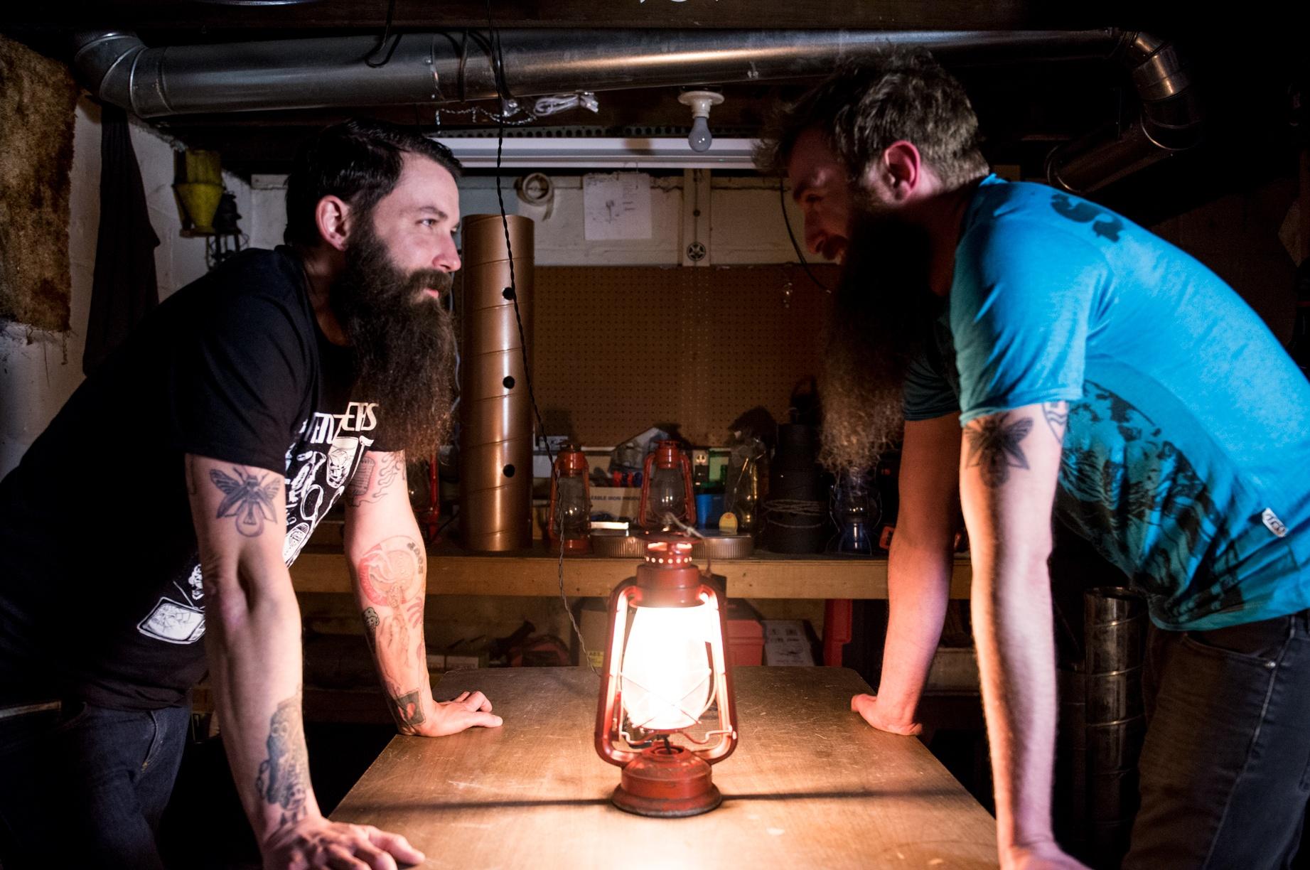 Whiskertin Lighting Glenn Miller and Aaron Novak